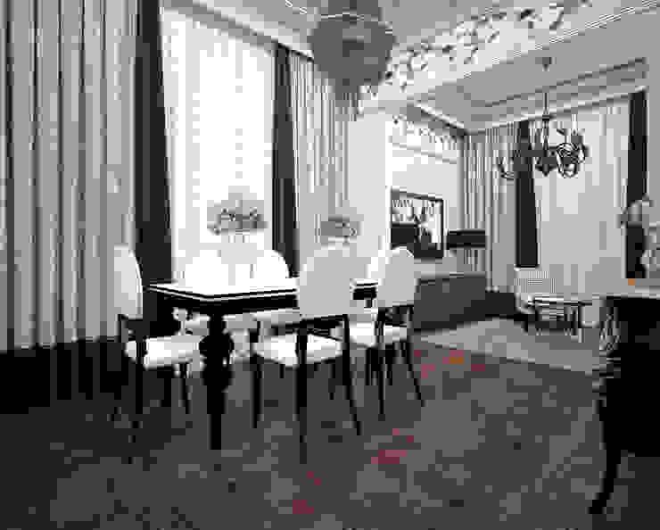 Выход из лабиринта. Столовая комната в эклектичном стиле от Частный дизайнер Оксана Пискарева Эклектичный