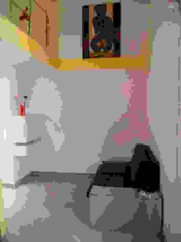 UAU un'architettura unica Moderne Wohnzimmer