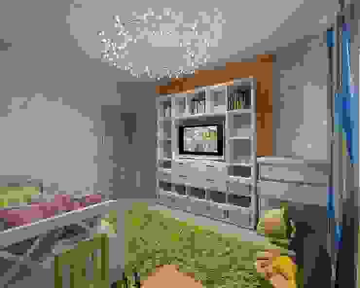 Детская Детская комнатa в стиле минимализм от Студия дизайна Натали Хованской Минимализм