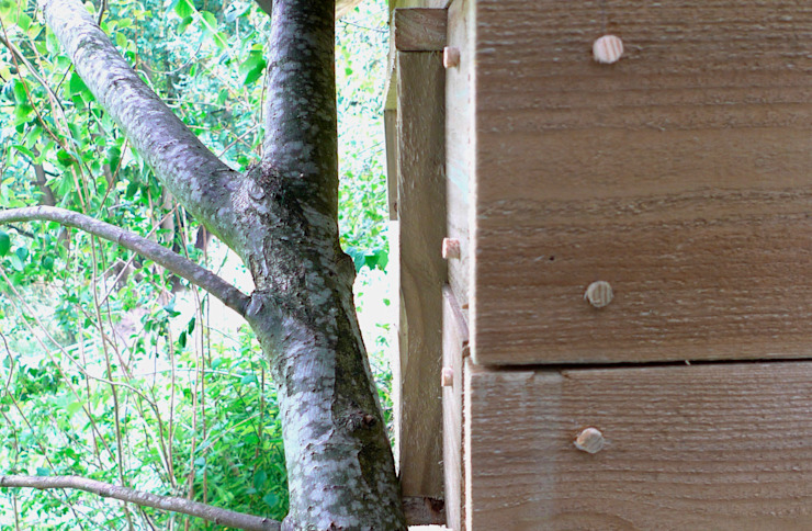Treehouse Rustic style garden by wayne maxwell Rustic