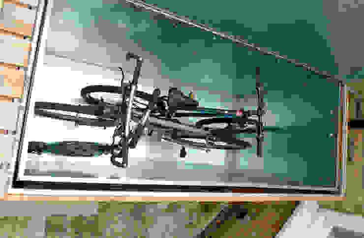 Cycle storage Modern garden by wayne maxwell Modern