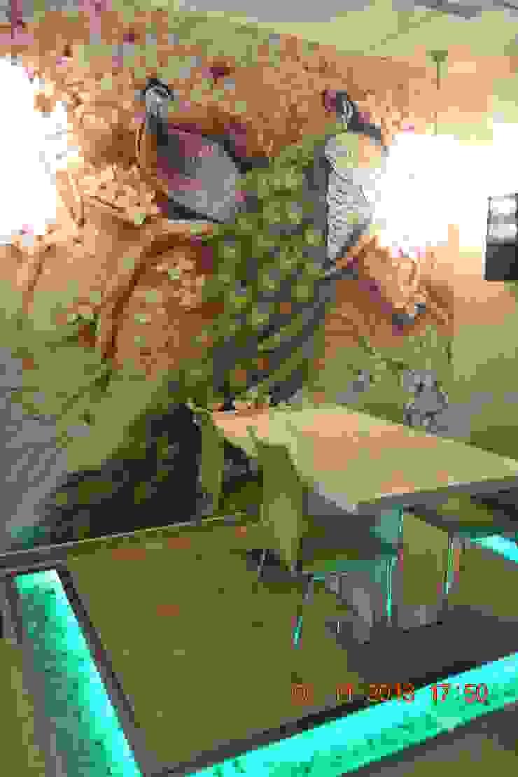 Интерьер столовой Столовая комната в стиле модерн от Студия дизайна Натали Хованской Модерн