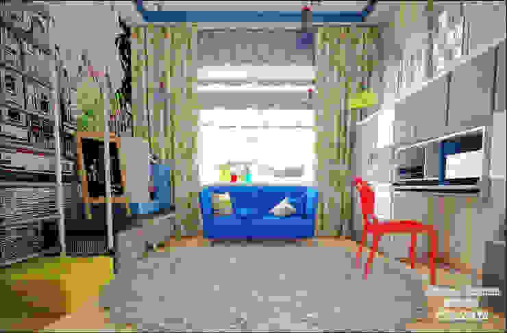 Комната младшей дочери Детские комната в эклектичном стиле от Частный дизайнер Оксана Пискарева Эклектичный