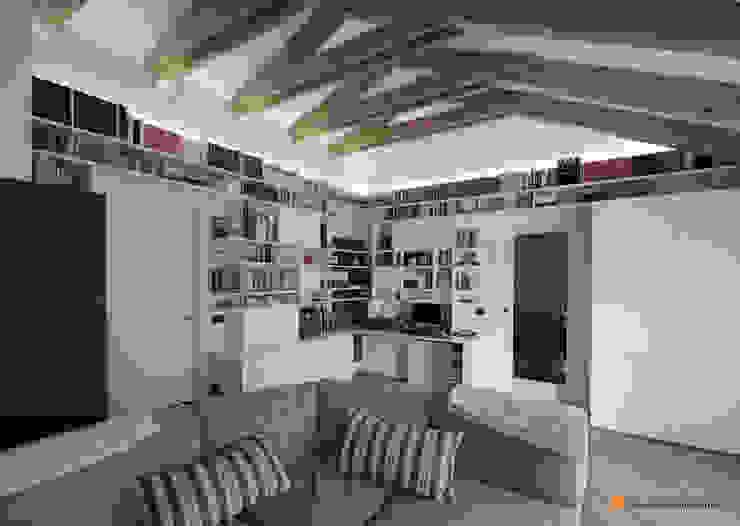 Casa_V di Emilio Bonvecchio Architetto Moderno
