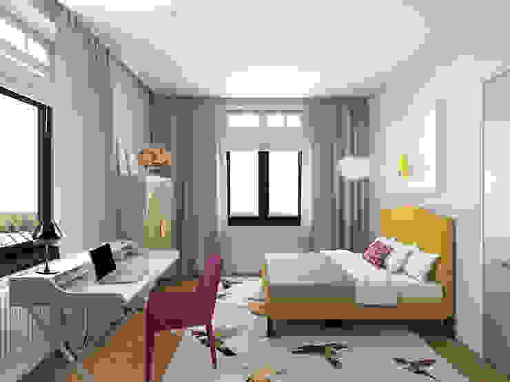 Детская комната Детские комната в эклектичном стиле от ELENA BELORYBKINA Эклектичный