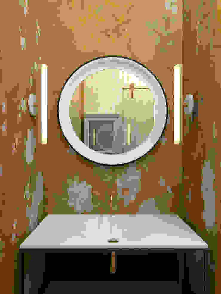 Гостевая душевая Ванная комната в эклектичном стиле от ELENA BELORYBKINA Эклектичный