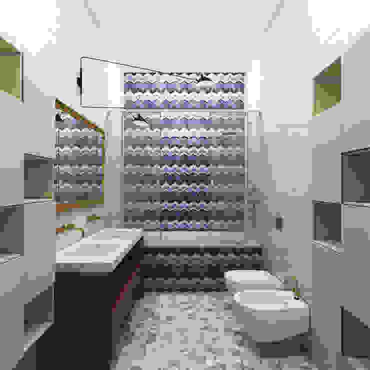 Детская ванна Ванная комната в эклектичном стиле от ELENA BELORYBKINA Эклектичный