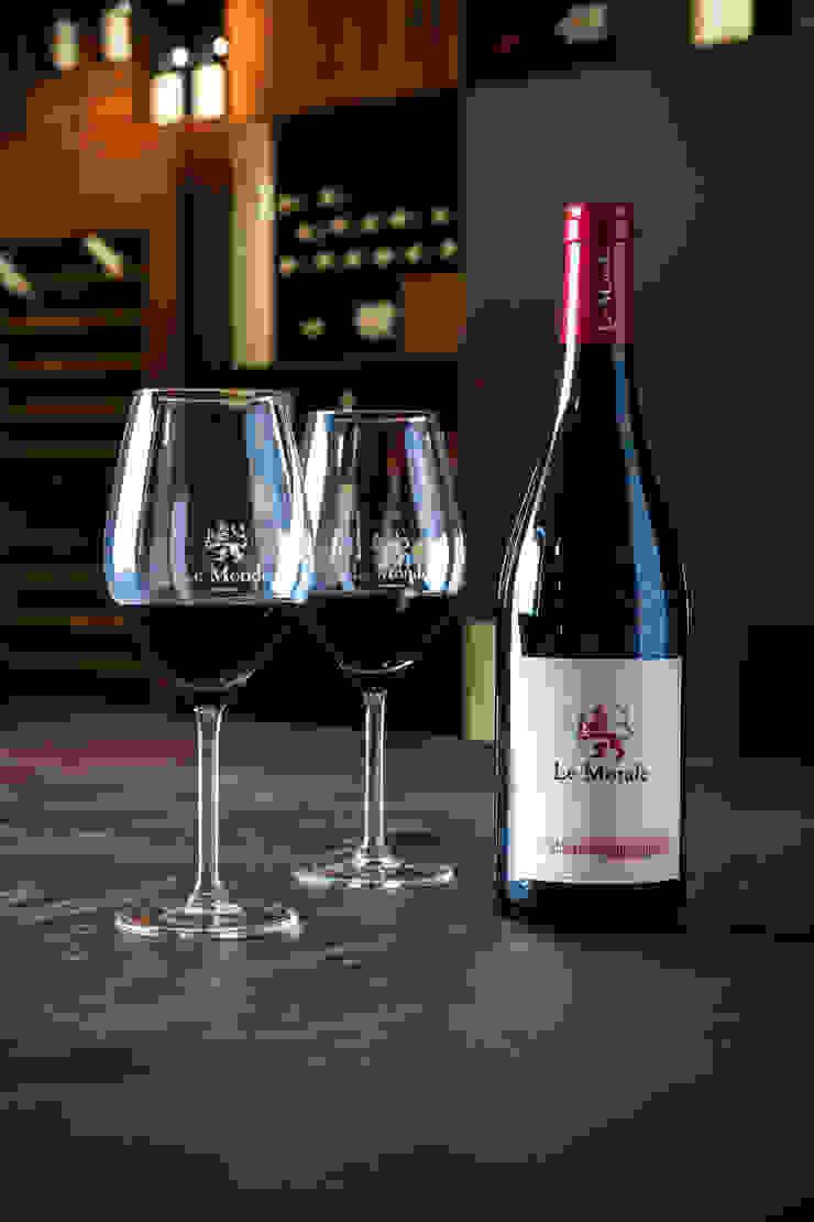 Wine Tasting Room Modern gastronomy by Alessandro Isola Ltd Modern