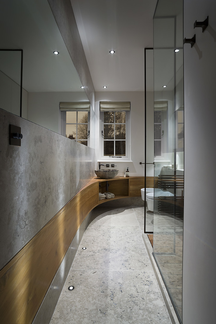 Hertfordshire Home Modern bathroom by Alessandro Isola Ltd Modern