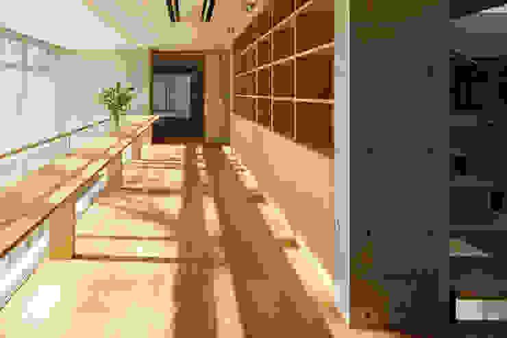 T-house: 秋山建築研究所が手掛けた書斎です。,モダン