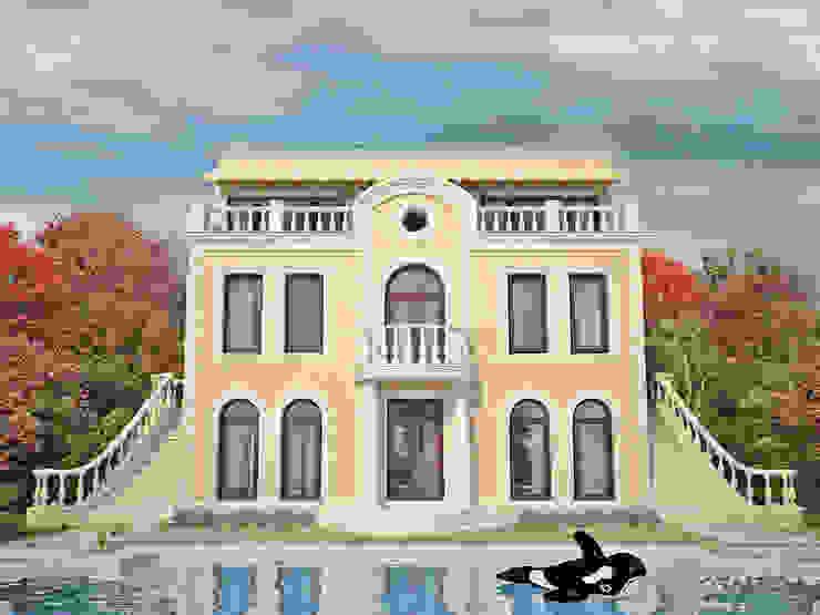 Вилла с видом на реку. г. Казань Дома в классическом стиле от премиум интериум Классический