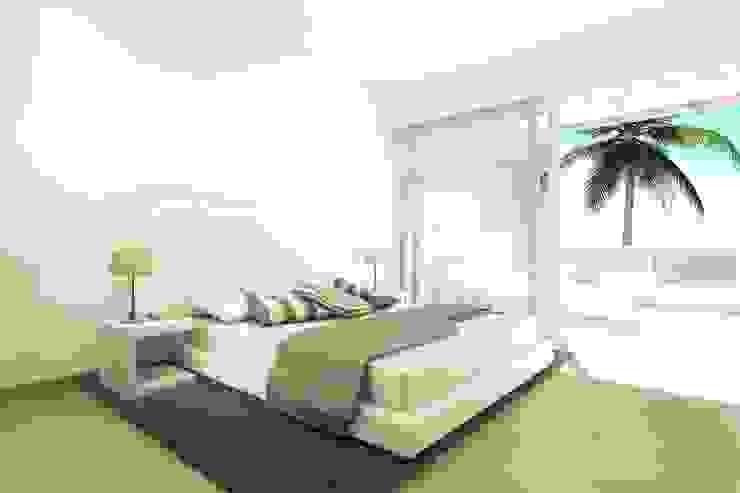Urbanización La Caleta Dormitorios de estilo moderno de Alicia Toledo Moderno