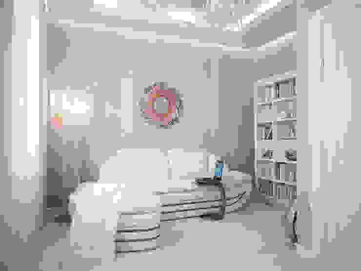 Роскошный Ар-деко Спальня в классическом стиле от премиум интериум Классический