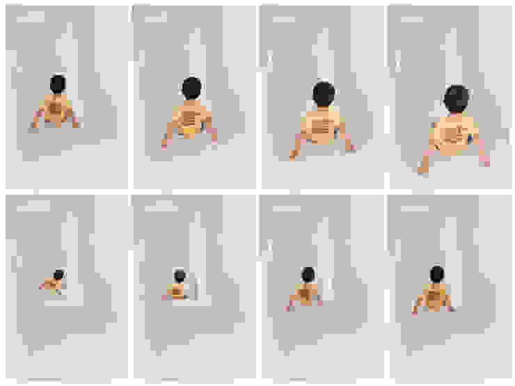 SLIDE HOUSE (House in Nakameguro) ミニマルスタイルの 玄関&廊下&階段 の LEVEL Architects ミニマル