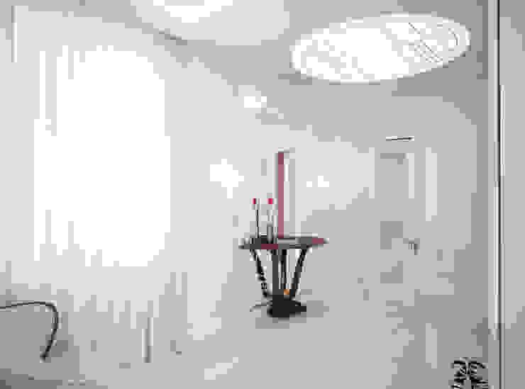 Роскошный Ар-деко Коридор, прихожая и лестница в классическом стиле от премиум интериум Классический