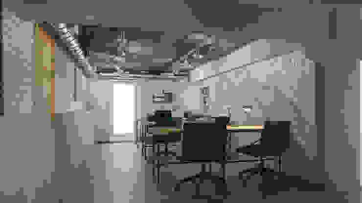 Edificios de oficinas de estilo  de Икс-Три