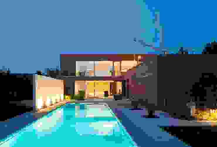 Case in stile minimalista di bdmp Architekten & Stadtplaner BDA GmbH & Co. KG Minimalista