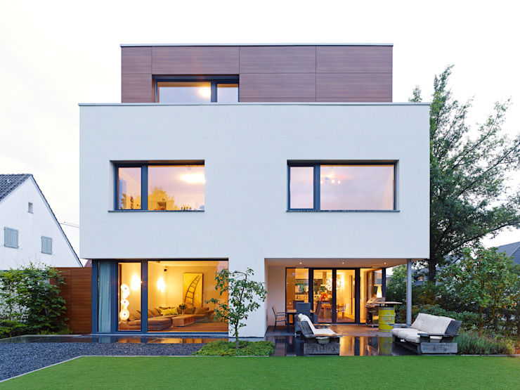 bdmp Architekten & Stadtplaner BDA GmbH & Co. KG Nowoczesne domy