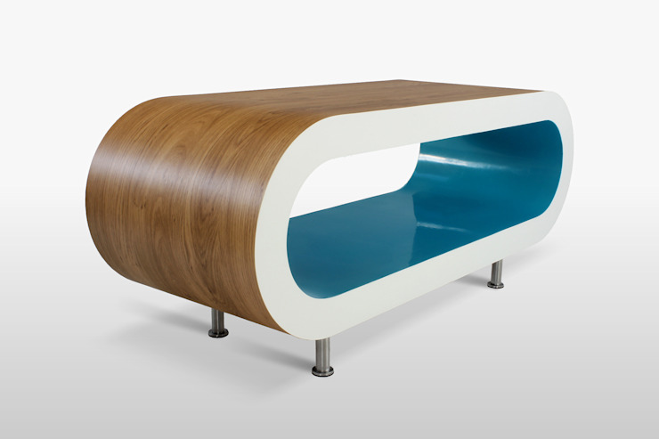 Zespoke Hoop Coffee Table: minimalist  by Zespoke Design, Minimalist