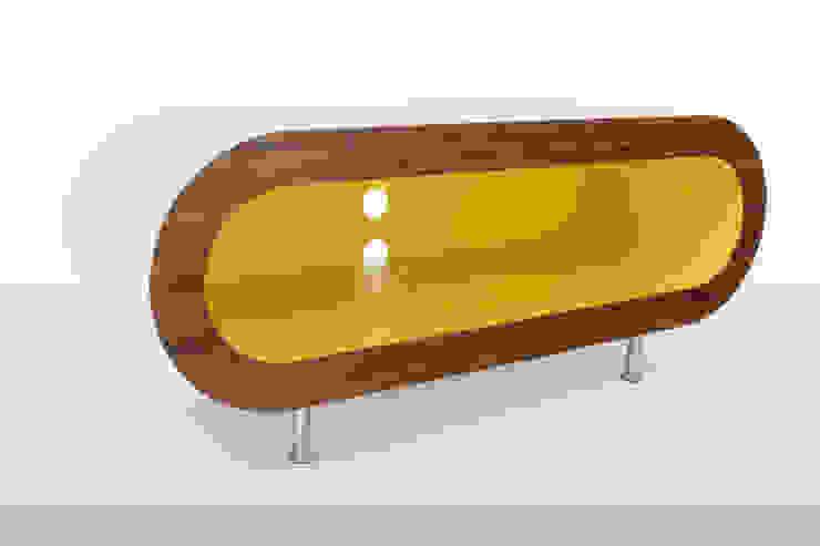Zespoke Hoop TV Stand: minimalist  by Zespoke Design, Minimalist