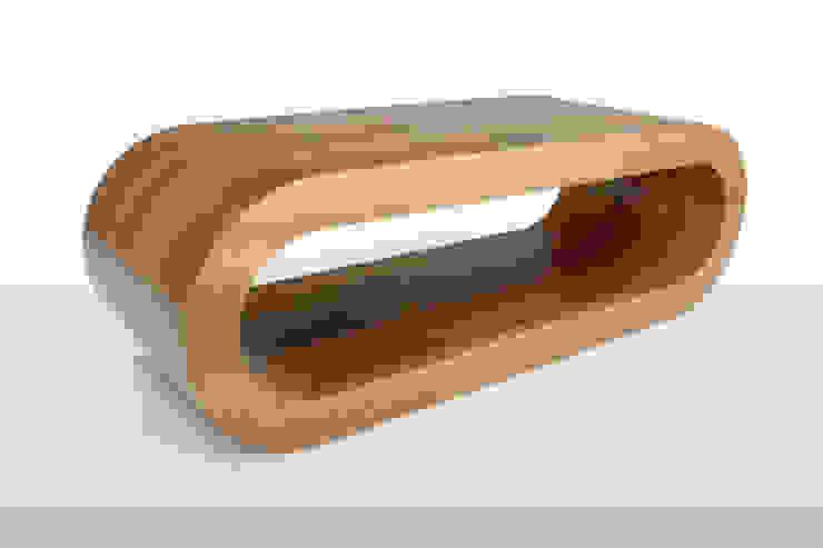 Zespoke Hoop Coffee Table: rustic  by Zespoke Design, Rustic