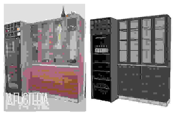 Cristalero para comedor en Nocce Milano de La Fustería - Carpinteros Moderno