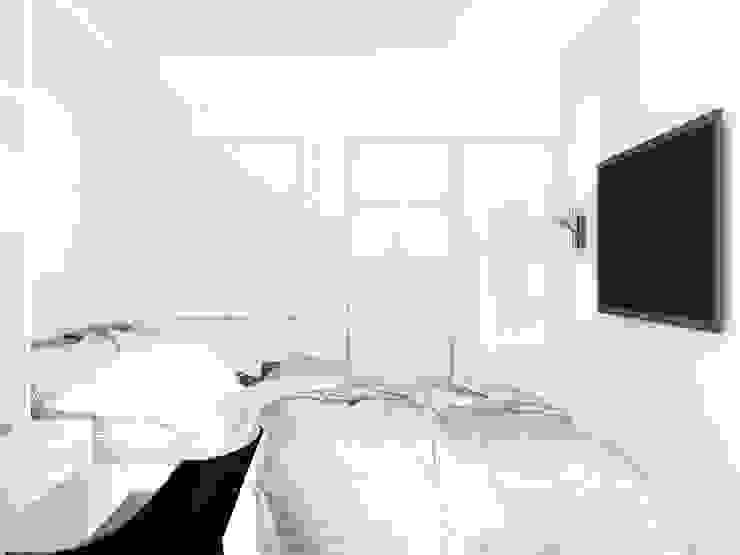 Minimalist bedroom by Сергей Харенко Minimalist