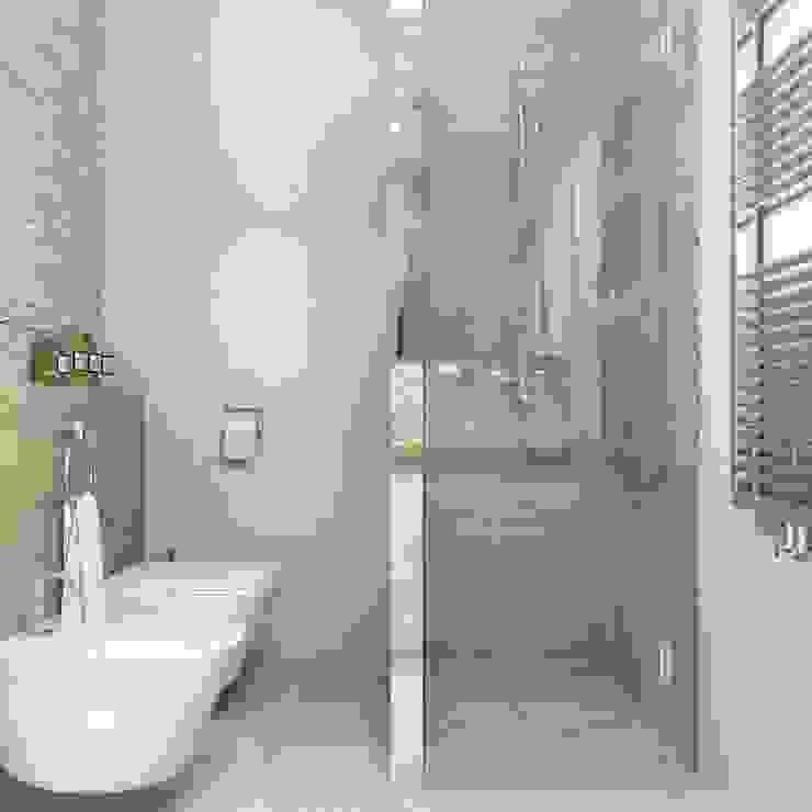 Baños de estilo minimalista de Сергей Харенко Minimalista
