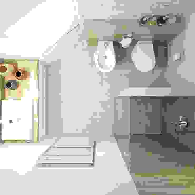 Minimalist style bathroom by Сергей Харенко Minimalist
