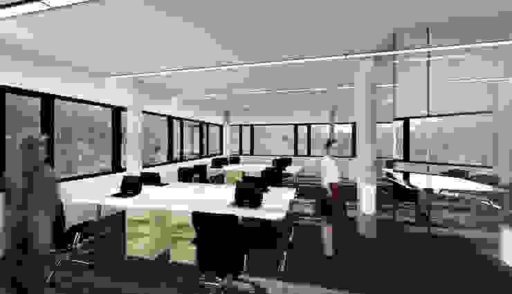QUARTZ - wizualizacja wnętrza 1 od Easst.com Industrialny