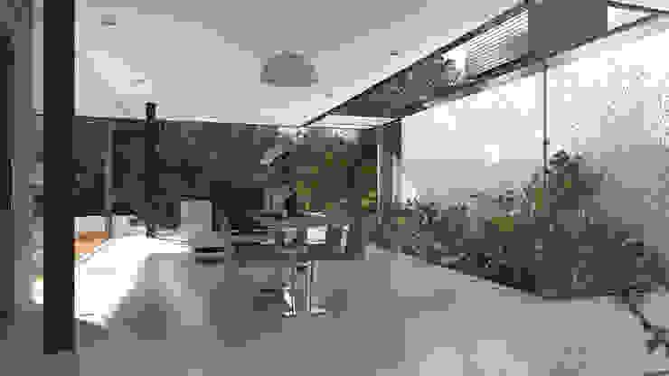 Casa Varanda Salas de jantar modernas por ODVO Arquitetura e Urbanismo Moderno