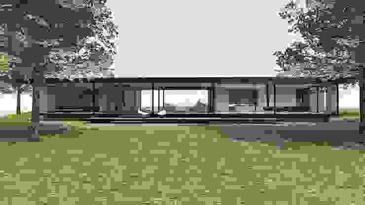 Pavilhão Jardim das Palmeiras Casas modernas por ODVO Arquitetura e Urbanismo Moderno