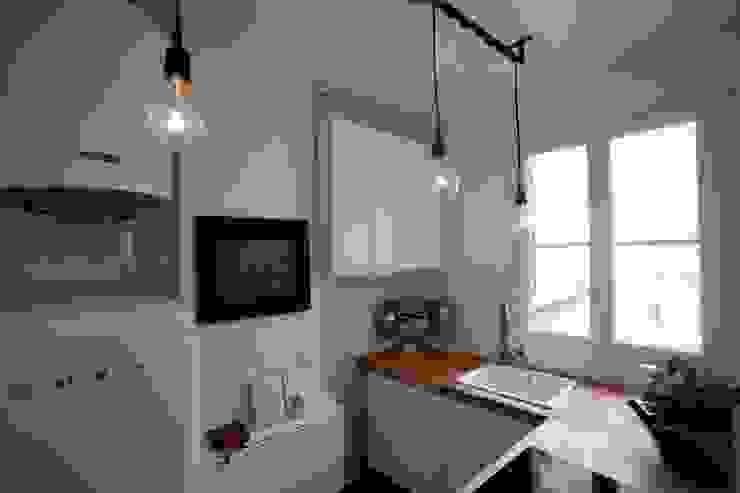 La cucina, dopo il restauro di Chiara Pecorelli