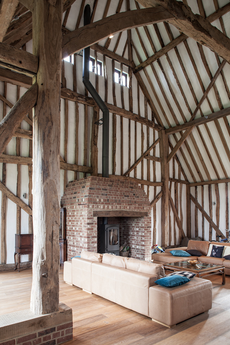 Photography—barn conversion in Sawbridgeworth Modern living room by Adelina Iliev Photography Modern
