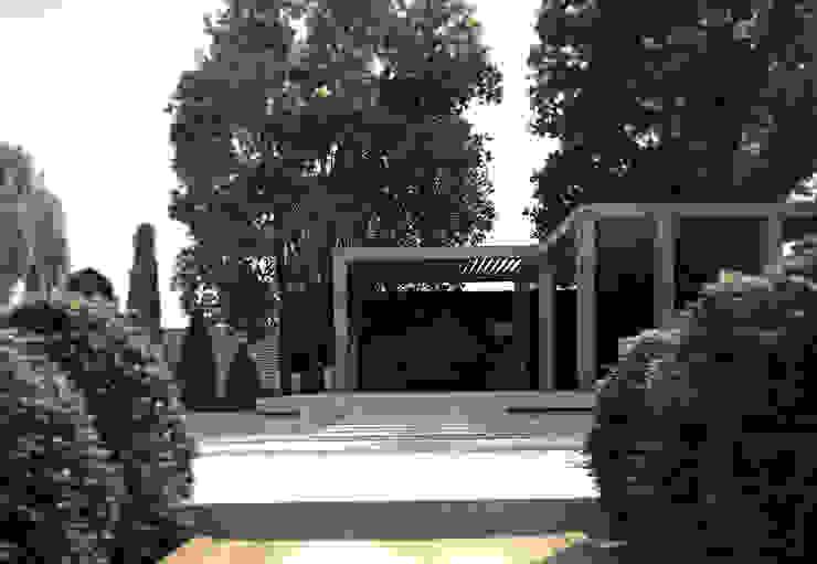 Дом-бетон Дома в стиле минимализм от Grynevich Architects Минимализм