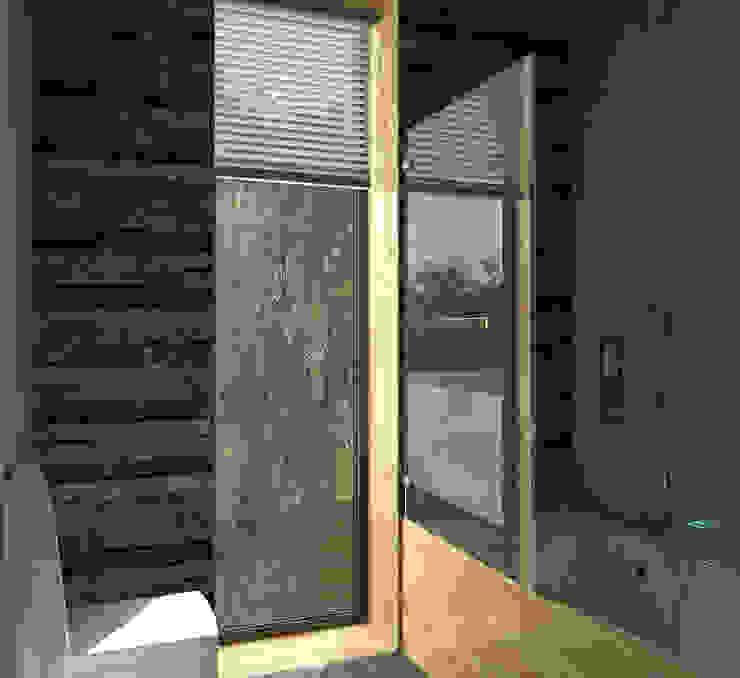 Дом-бетон Спа в стиле минимализм от Grynevich Architects Минимализм