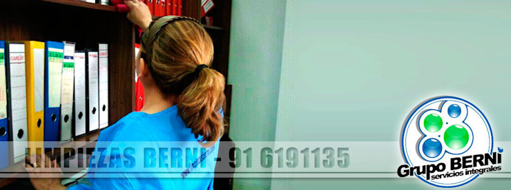 Limpiezas Berni - Servicios integrales Oficinas y tiendas de estilo moderno de Limpiezas Berni Moderno
