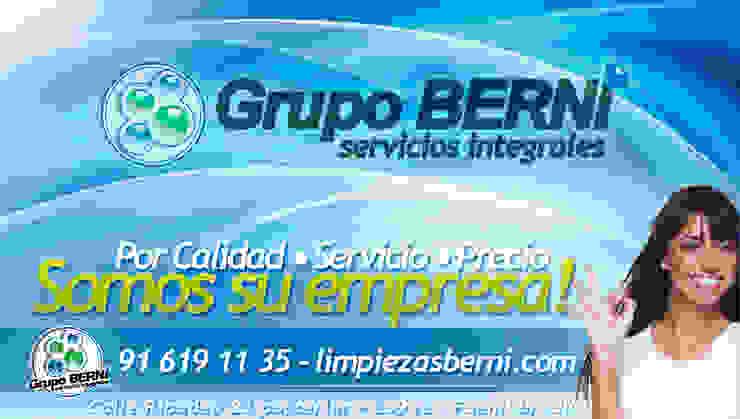 Limpiezas Berni - Servicios integrales Espacios comerciales de estilo moderno de Limpiezas Berni Moderno