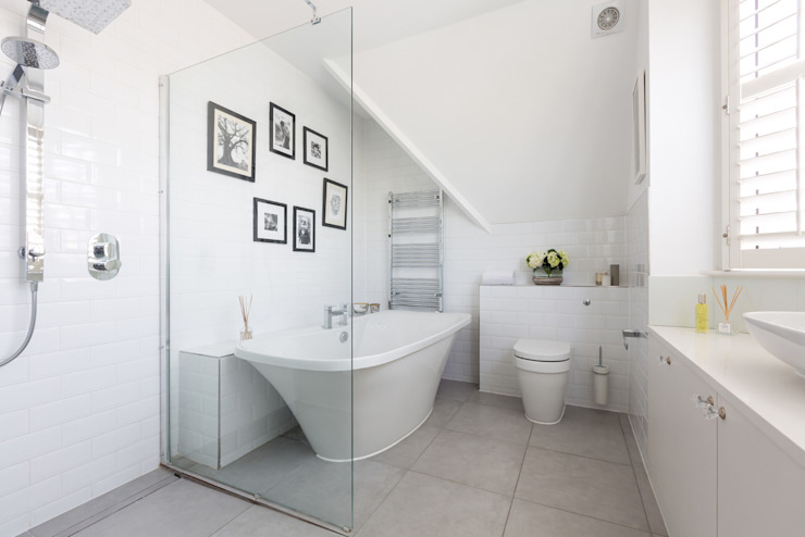 Broadgates Road SW18 Minimalist style bathroom by BTL Property LTD Minimalist