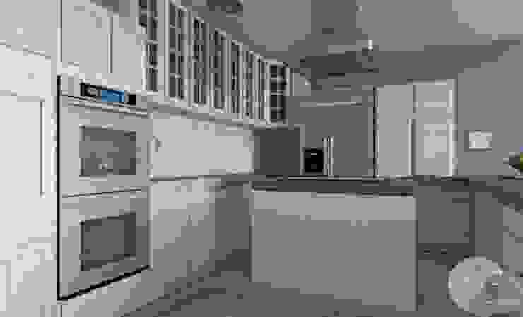 Casa en la playa Cocinas de estilo clásico de MGC Diseño de Interiores Clásico