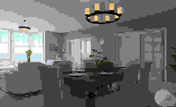 Casa en la playa de MGC Diseño de Interiores Clásico