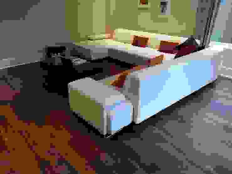 Engineered Walnut Flooring Modern living room by The Prestige Flooring Company Modern