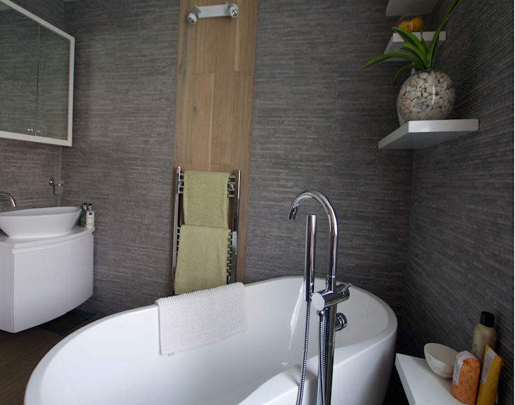 Bathroom Baños de estilo moderno de Kate Harris Interior Design Moderno