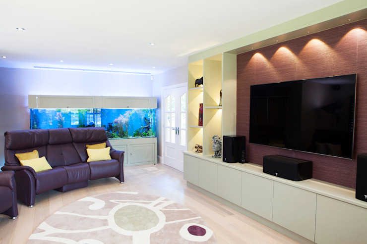 Family Lounge Modern living room by Jane Fitch Interiors Modern