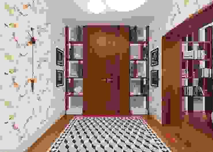 식민지스타일 복도, 현관 & 계단 by FEDOROVICH Interior 콜로니얼 (Colonial)