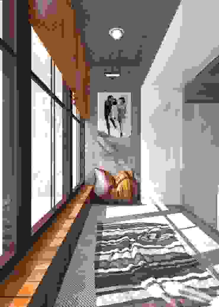 Modern Terrace by Yana Ryabchenko Modern