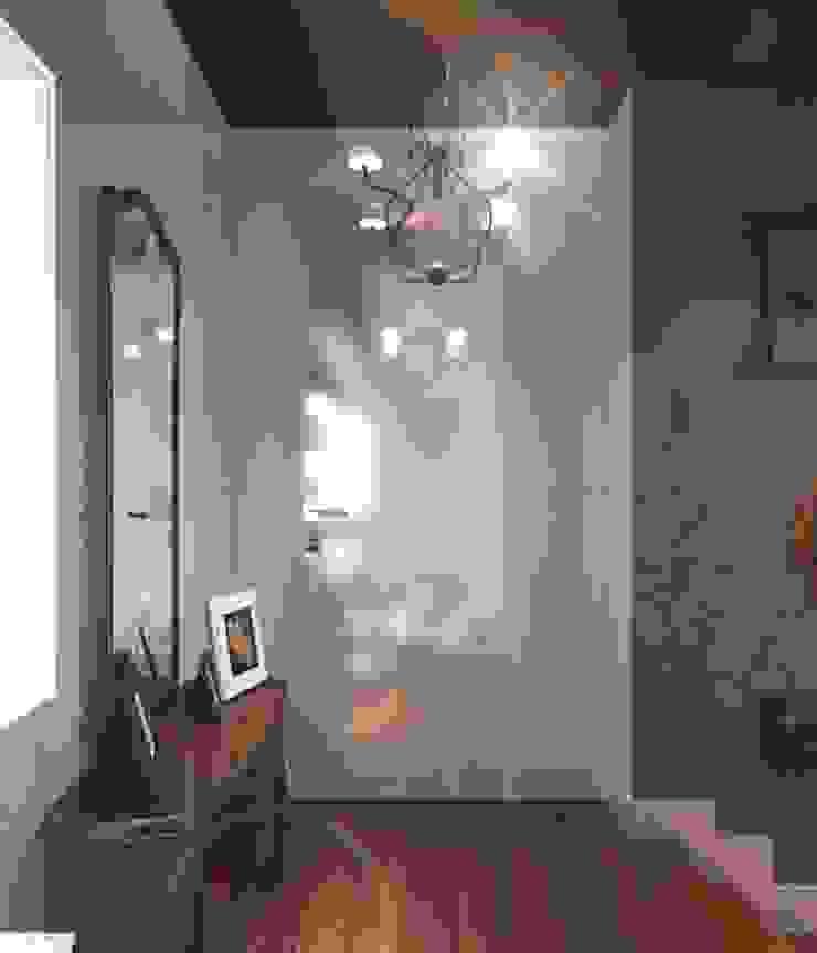 Eclectic style corridor, hallway & stairs by Yana Ryabchenko Eclectic