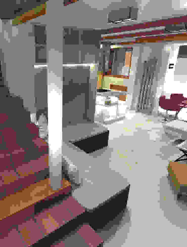 Modern Corridor, Hallway and Staircase by Yana Ryabchenko Modern