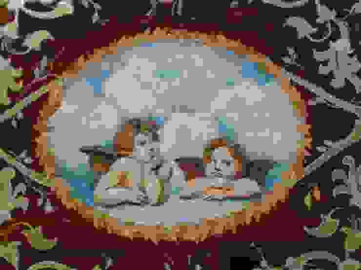 роспись и реставрация столика Гостиная в классическом стиле от Абрикос Классический
