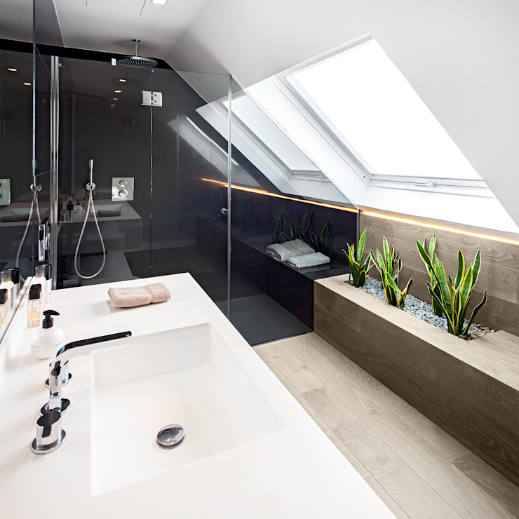 Modern style bathrooms by Tarimas de Autor Modern